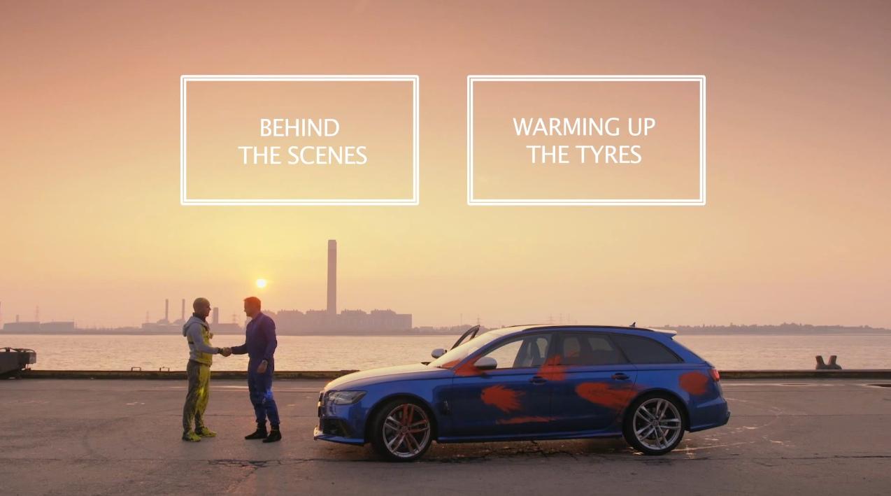Audi Man vs. Machine